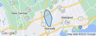 Map of West Rocks, Norwalk CT